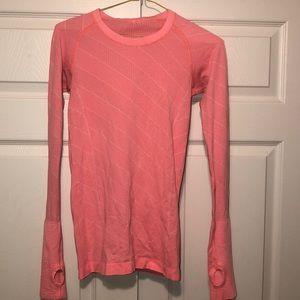 Orange / Pink Lululemon Long Sleeve